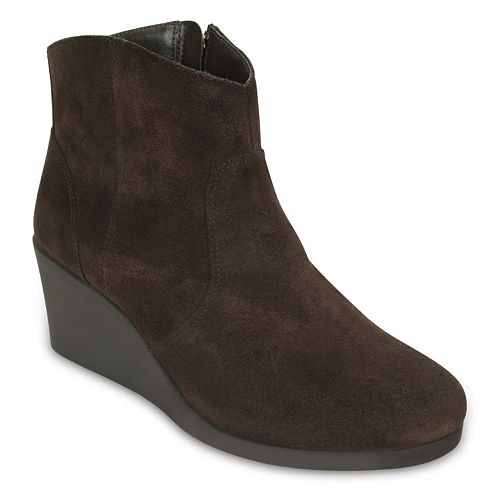 Crocs Leigh Women's Wedge Ankle Boots