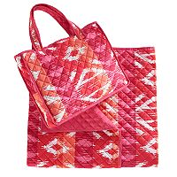 Celebrate Summer Together Quilted Beach Blanket & Tote