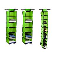 Home Basics 3-pack Hanging Closet Organizer