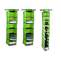 Home Basics 3-pack Hanging Closet Organizer