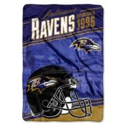 Baltimore Ravens Stagger Microfleece Oversized Throw by Northwest