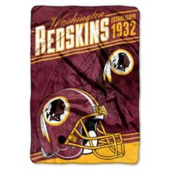Washington Redskins Stagger Microfleece Oversized Throw by Northwest