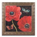 "Trademark Fine Art ""Petals and Wings II"" Ornate Framed Wall Art"