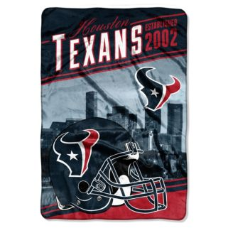 Houston Texans Stagger Microfleece Oversized Throw by Northwest