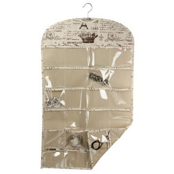 Home Basics Paris Hanging Jewelry Organizer