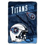 Tennessee Titans Stagger Microfleece Oversized Throw by Northwest