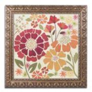 "Trademark Fine Art ""Spice Garden I"" Ornate Framed Wall Art"