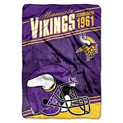 Minnesota Vikings Stagger Microfleece Oversized Throw by Northwest