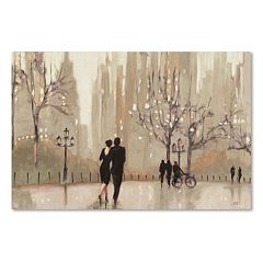 Trademark Fine Art 'An Evening Out Neutral' Canvas Wall Art