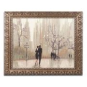 "Trademark Fine Art ""An Evening Out Neutral"" Ornate Framed Wall Art"