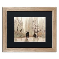Trademark Fine Art 'An Evening Out Neutral' Framed Wall Art