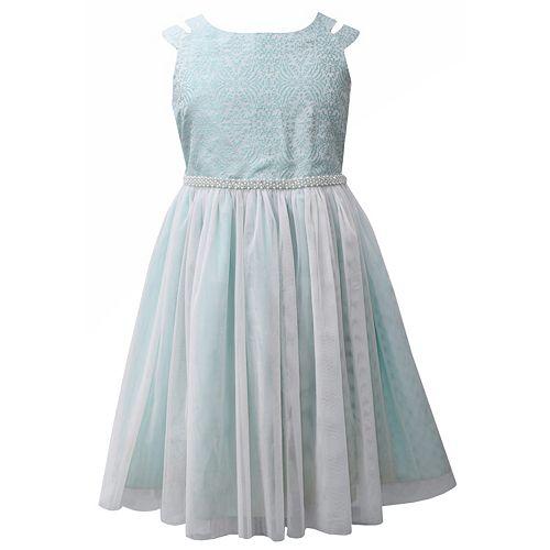 Girls Plus Size Bonnie Jean Ballerina Dress