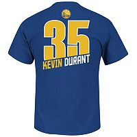 Boys 8-20 Majestic Golden State Warriors Kevin Durant Record Holder Name & Number Tee