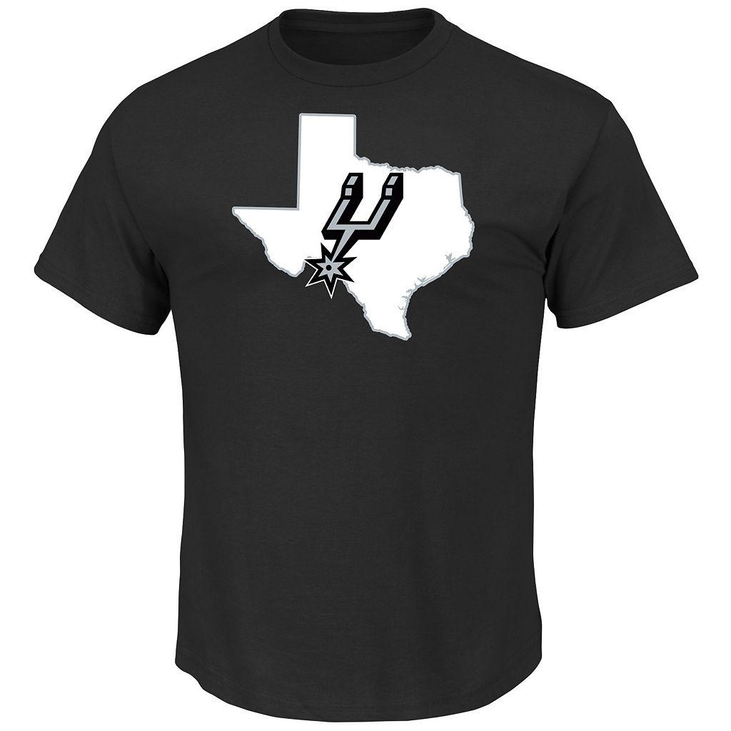 Boys 8-20 Majestic San Antonio Spurs Kawhi Leonard Record Holder Name and Number Tee