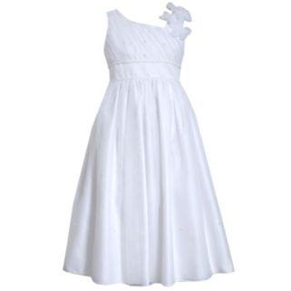 Girls 7-16 Bonnie Jean Floral Shoulder Organza Dress