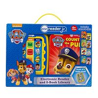 Paw Patrol Electronic Reader & 8 Book Library Set
