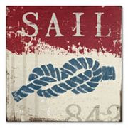 Trademark Fine Art Wellington Studio 'Nautical III Red' Canvas Wall Art