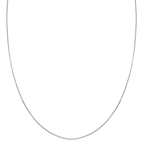 PRIMROSE Sterling Silver Cable Chain Necklace - 24 in.