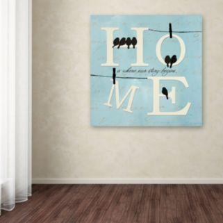 """Trademark Fine Art """"Well Said II"""" Canvas Wall Art"""