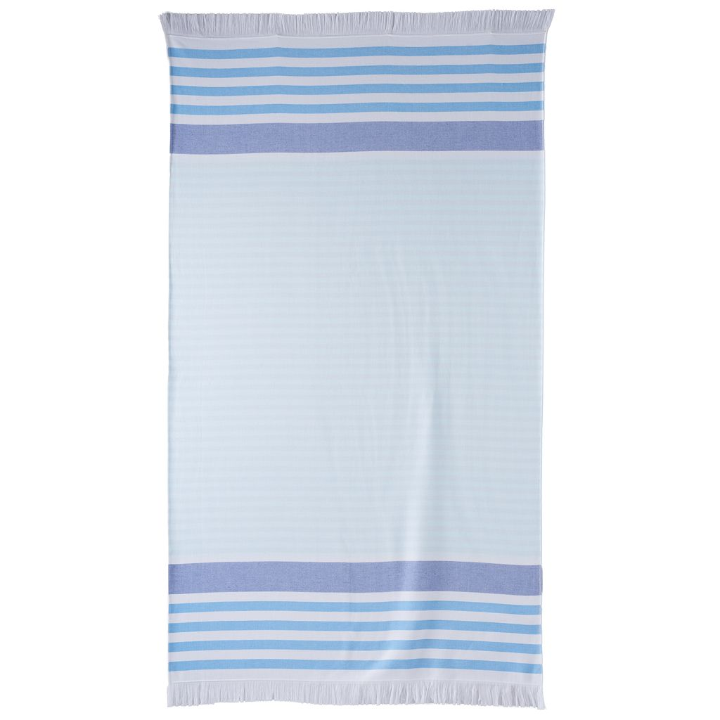 Celebrate Summer Together Flat Woven Stripe Beach Towel