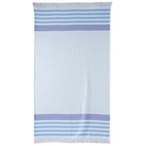 Celebrate Summer Together Flat Woven Stripe Beach Towel