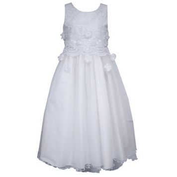 Girls 7-16 Bonnie Jean Popover Tulle Dress