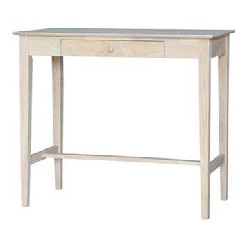 International Concepts White Standing Desk