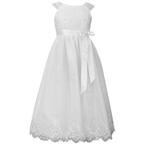 31aa202d7dc Girls 7-16 Bonnie Jean Sequin Organza Dress