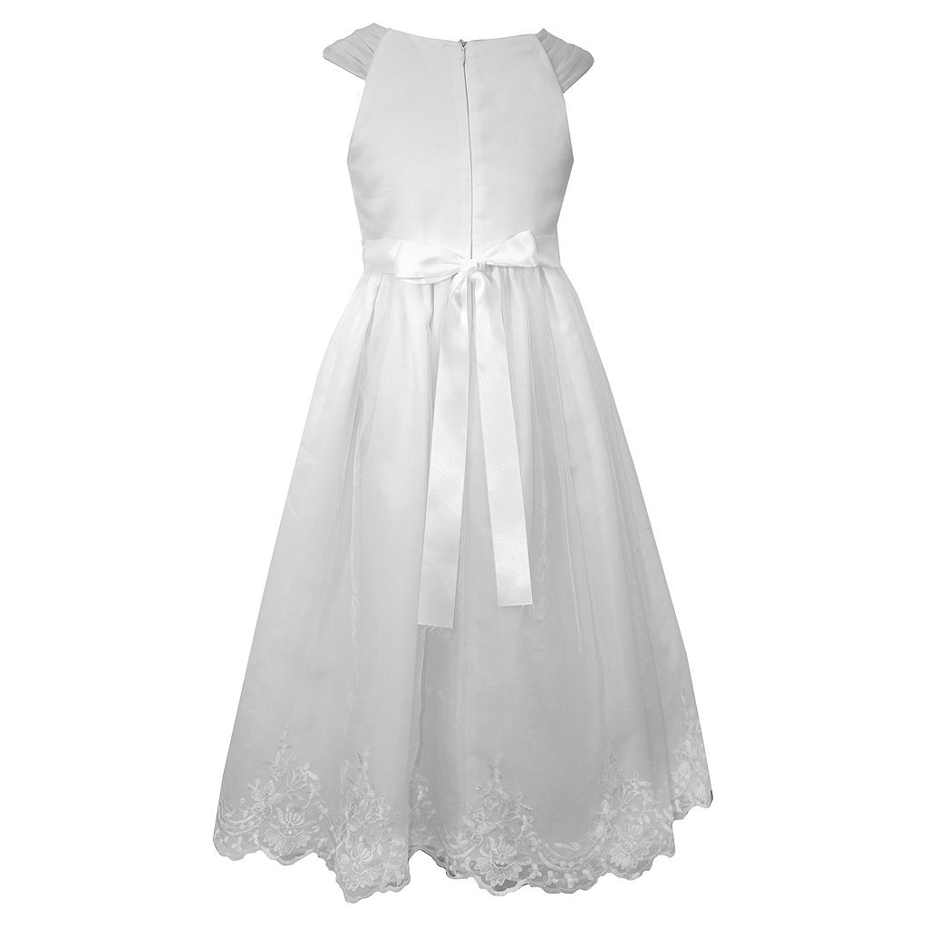 Girls 7-16 Bonnie Jean Sequin Organza Dress