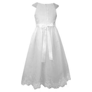 Girls 7-16 Bonnie Jean Sequin Organza Dress