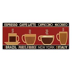 Trademark Fine Art Deco Coffee Panel I Canvas Wall Art