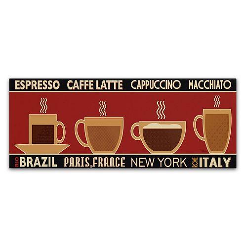 Trademark Fine Art Deco Coffee Panel I Canvas Wall Art