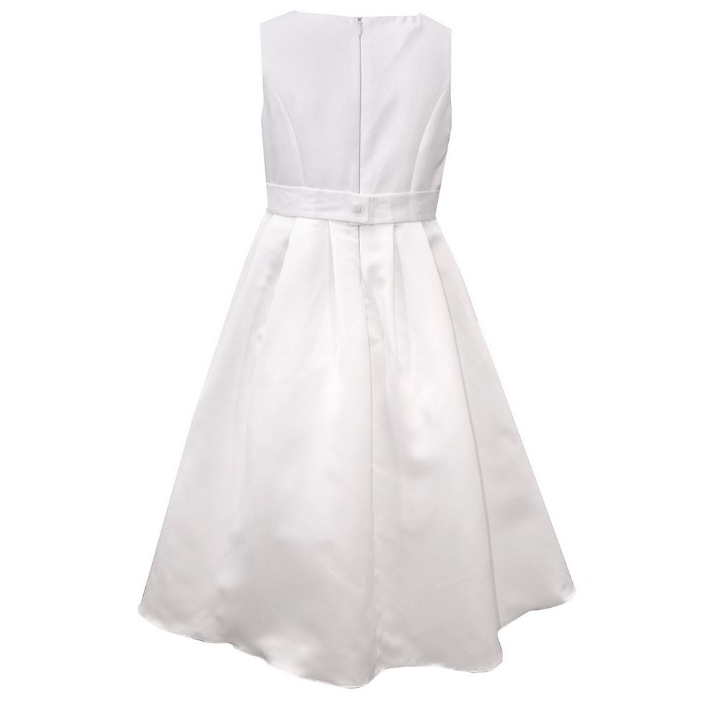 Girls 7-16 Bonnie Jean Asymmetrical Peplum Dress