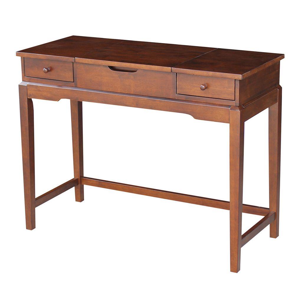 International Concepts 2-Drawer Vanity Table