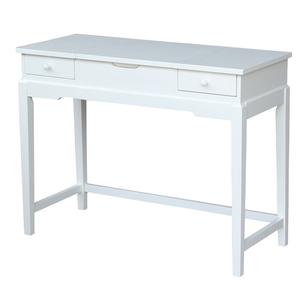 International Concepts 2-Drawer Vanity Table