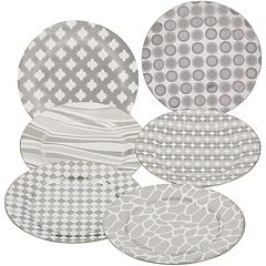 Certified International 6-pc. Plated Dessert Plate Set