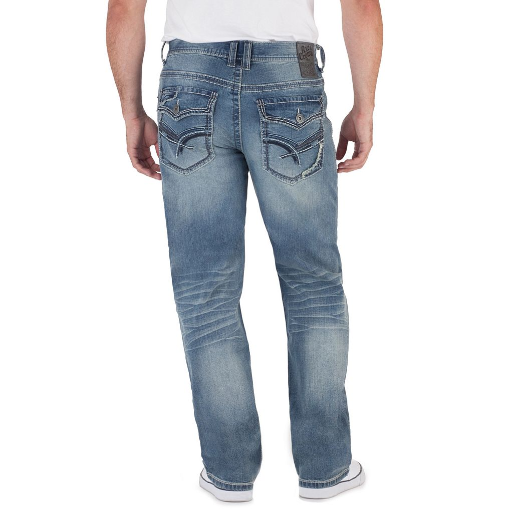 Men's Axe & Crown Stretch Relaxed Straight Jeans