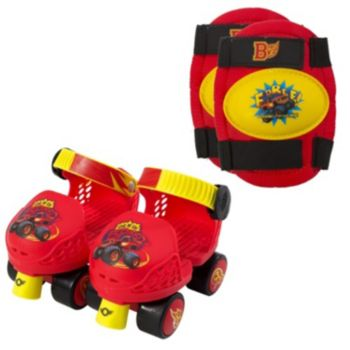 Blaze and the Monster Machines Roller Skates & Knee Pad Set by Playwheels