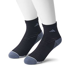 Men's adidas 2-pack Speed Mesh climalite Superlite Quarter Socks