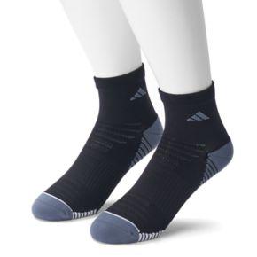 Men's adidas 2-pack Speed Mesh climalite Superlite Quarter Socks