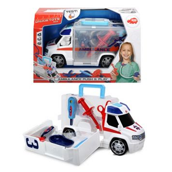 Dickie Toys Push & Play SOS Ambulance