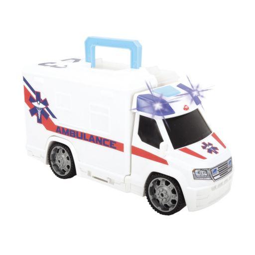 Dickie Toys Push & Play SOS Ambulance