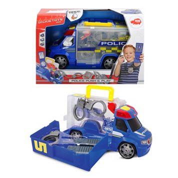 Dickie Toys Push & Play SOS Police Patrol Car