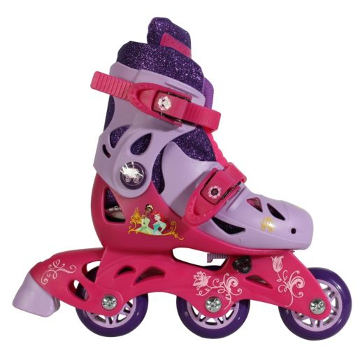 Disneys Princess Youth Glitter Convertible Roller Skates by PlayWheels