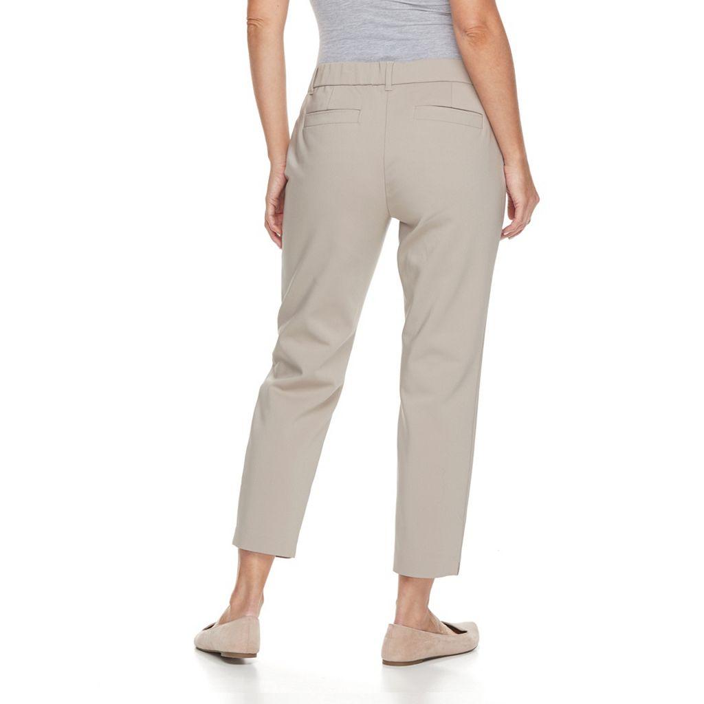 Petite Dana Buchman Crop Pants