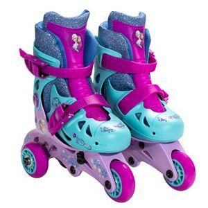 Disney's Frozen Anna & Elsa 2-in-1 Convertible Roller Skates by Playwheels