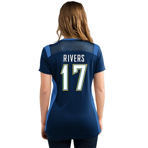 the latest 6949d ff02f Women's Majestic San Diego Chargers Philip Rivers Draft ...