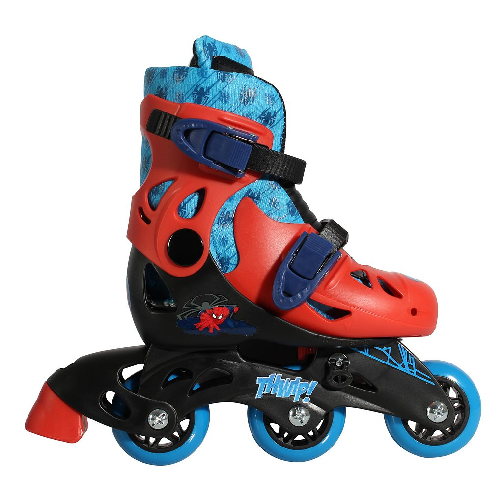 Marvel Spider-Man 2-in-1 Convertible Roller Skates by Playwheels