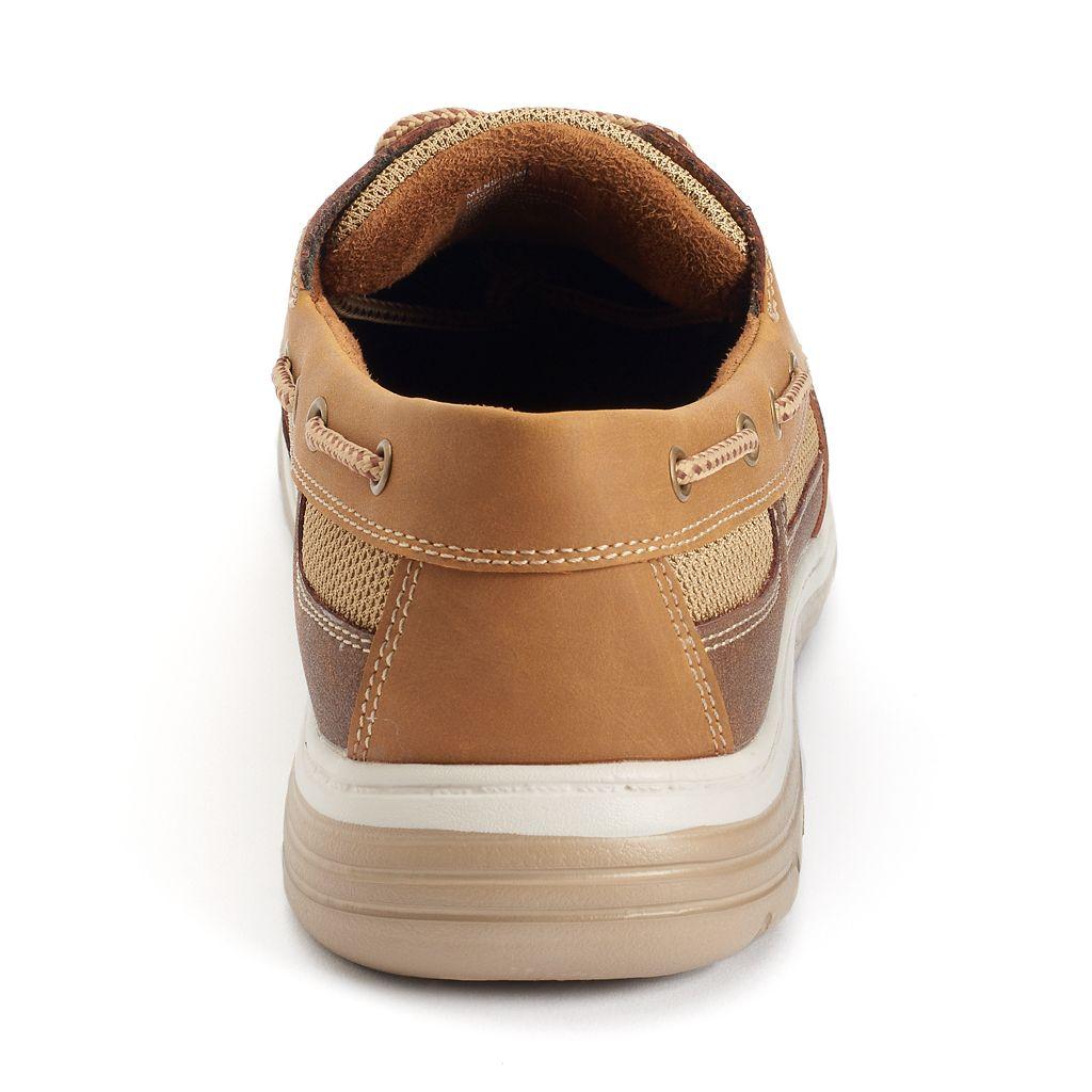 Croft & Barrow® Men's Ortholite Vented Boat Shoes