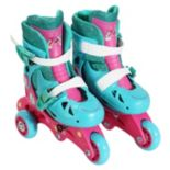 DreamWorks Trolls Poppy Youth Glitter Convertible Roller Skates by PlayWheels